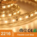 Sparta patent product,220V-265V input smd 2216 120LEDs/m single line led strip light