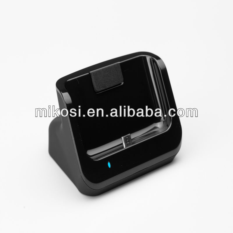 USB sync dual Dock Cradle charger For Galaxy S2 II i9100 GT-9100