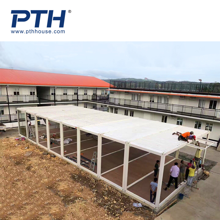 prefabricated modular container house for accommodation