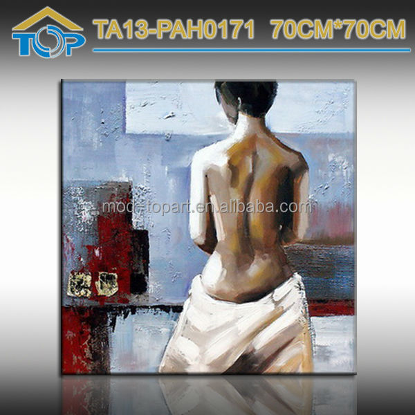 Wholesale Sexy Naked Young Girl Wall Oil Painting