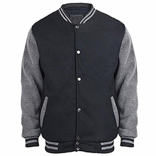 Custom wholesale blank plain varsity baseball jackets