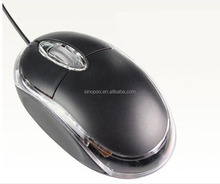 Cheap optical wired usb PC mouse for computers