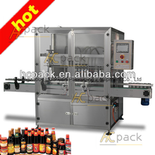 Liquid condiment fill machine