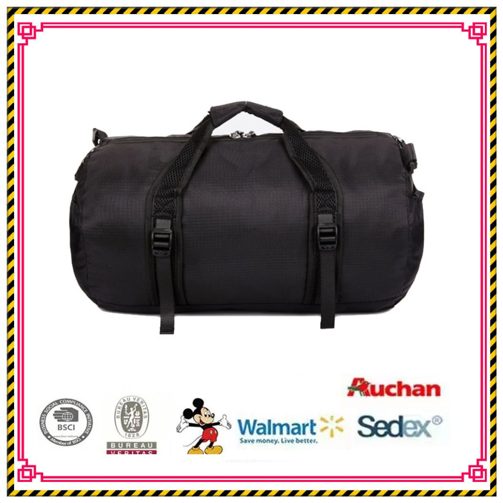 Wholesale cheap travel round ball sport bag for men,Round mens waterproof foldable travel duffle bag
