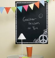 custom chalkboard wall sticker & decorative ticker