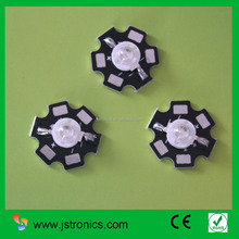 Hot sale 1W 455nm blue color high power led chip with PCB star