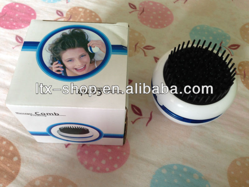 Massage Freshing comb / Hair Massage comb / Mini Round Shape Head Massage