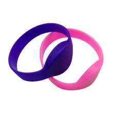 125Khz Customized Waterproof Sport RFID Silicone Wristband