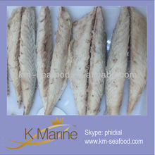 Seafood types of fish fillets (mackerel fillets) canned