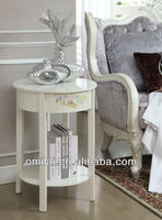 New elegant wooden coffee standing end table
