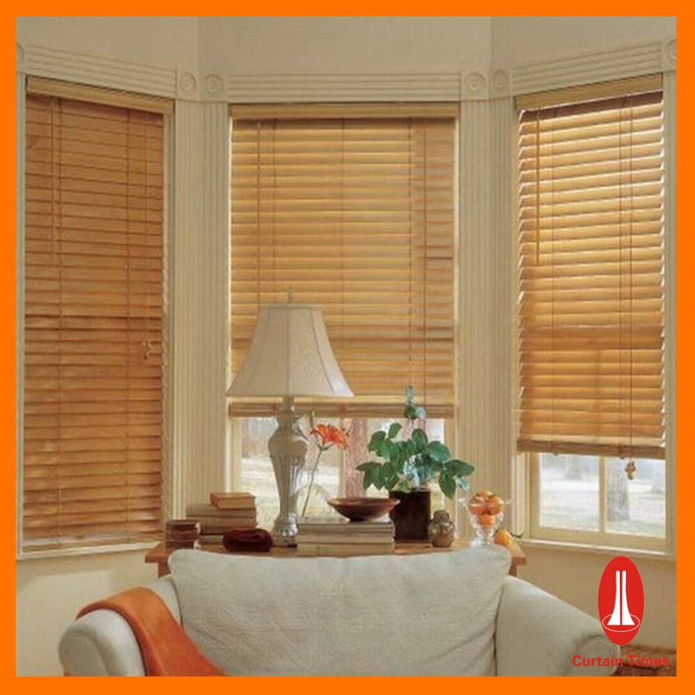 Curtain times Elegant New Style Colorful Wooded Cafe Style Venetian Blinds make Wood Blinds