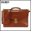 Brown Hard Stylish for Business Men Leather Executive Bags