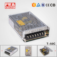 HOT!!! 50W Triple output switching power supply 50w 15v 5v led driver