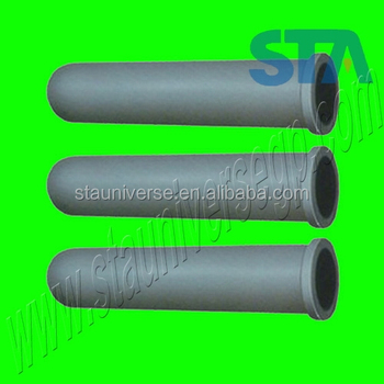 China Sialon Silicon Nitride Heater Tube for protection immersion heater