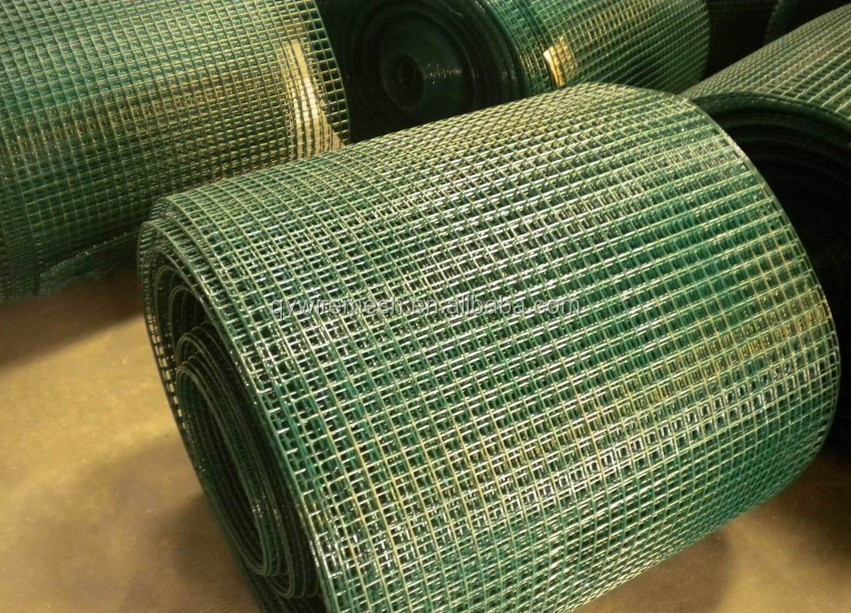 2015 hot sale 3/8 inch galvanized welded wire mesh / pvc coated welded wire mesh