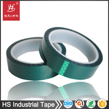 12 year factory thermal resistant insulation silicone adhesive 3m green pet polyester tape