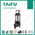 TAIFU brand AC 230V copper wire stainless steel body electric submersible sewage water pump for home