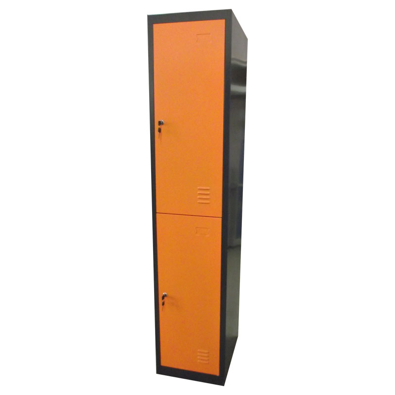 2 door clothing steel locker/wardrobe /vending machine locker