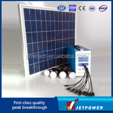 30W Portable Home DC Solar Lighting System