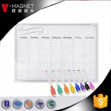magnetic self adhesive white board with pen