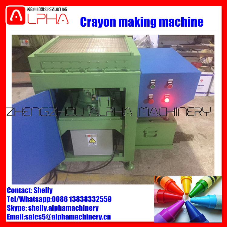 Colorful crayon maker machine / Oil Pastels Making Machine / wax pencil making machine