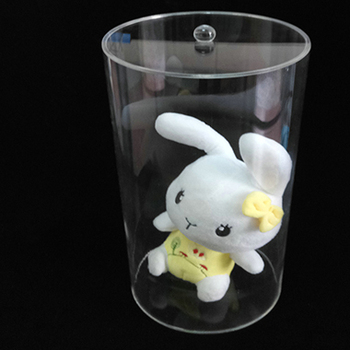 Clear acrylic container for candy wholesale with lid