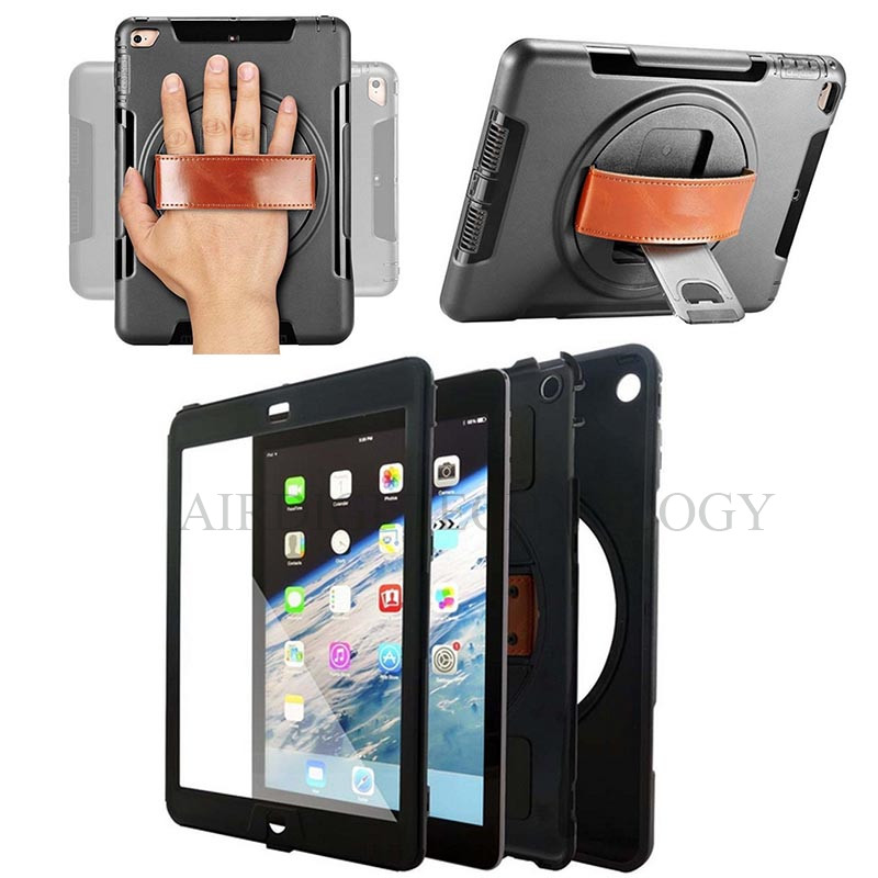 360 Degree Rotating Cover Case For Apple iPad Mini 4 Smart Back Cover Stand ShockProof Hybrid Heavy Duty