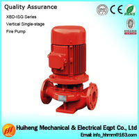 XBD-ISG Type Single Stage Trailer Fire Pump