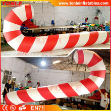 20ft giant christmas inflatable candy cane balloon