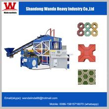Concrete automatic grass-planting brick making machine/Color brick machine/block making machine