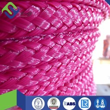 16 strand PE polyethylene hollow braided water ski rope with competitive price