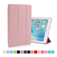 Wholesale Colorful Smart Leather Folio Case Flip Cover for iPad Pro 9.7""