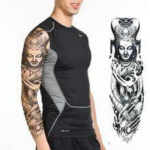 Wholesale Full Arm Sleeve Fake Hand Temporary Tattoo Designs For Men