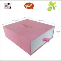 Hot Sale 2013 Paper Gift Box with Drawer with Handle