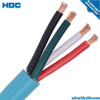 Hot selling copper core cable 16mm 4x2.5 mm2 nyy pvc cable PVC slick cable