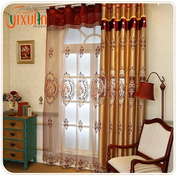 all kinds of colors name brand curtains for sale