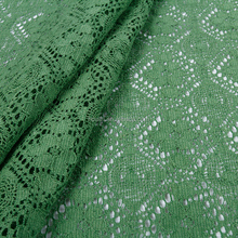 professional multi-styles 3d 100% cotton swiss voile african lace velvet fabric green for decoration