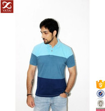 Slim Fit 95% Cotton 5% Spandex Softtextile T Shirt Polo