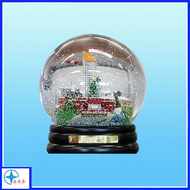 competitive price kids turning snow globe with blowing snow
