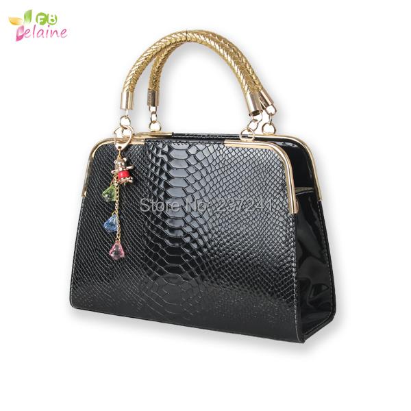 Women s Alligator handbags women leather handbags women messenger bags  women shoulder bag Wholesale 4ee407aebc