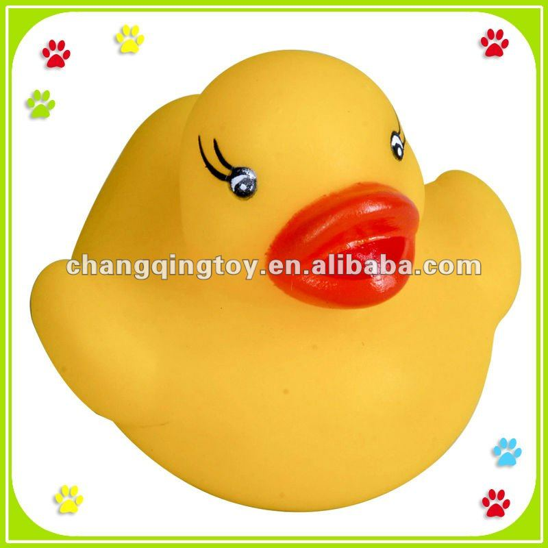Squeaky Plastic Bath Duck Toy