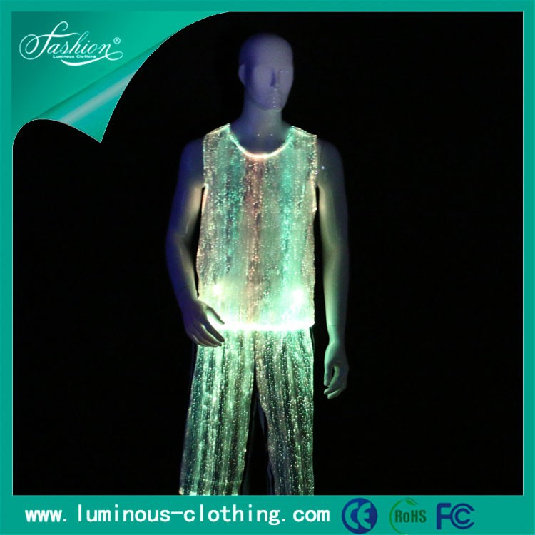 night club wear attractive flashing led gay club wear