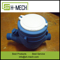 America type AWWA standard plastic or brass body multi jet water meter