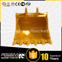 Varied Design HARDOX500 NM400 Customized excavator bucket for 1-80t excavator