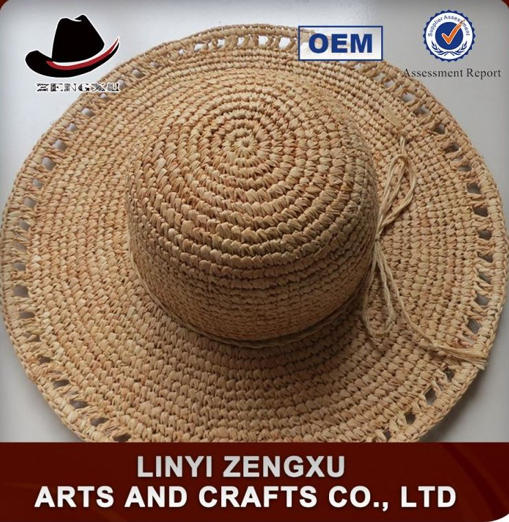Factory offer promotional printed custom made sex lady straw hat hot girl image
