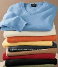 Men's V-neck Knitted Sweaters