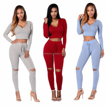 Stylish Women Party Wear Suits Hooded Jumpsuit Bodycon Playsuit Club Party Long Trousers Adult Romper Suits