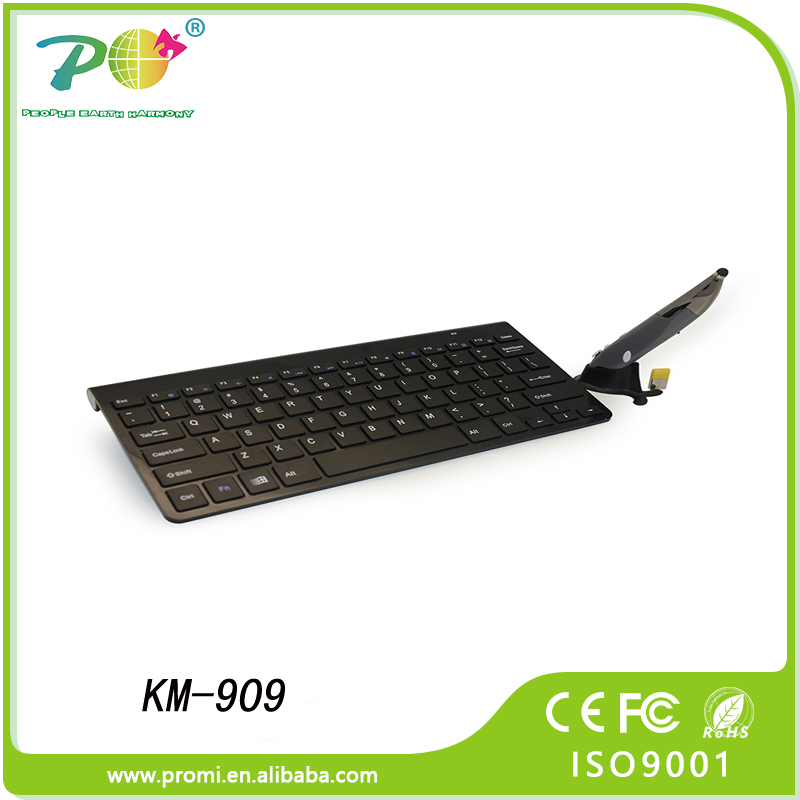 Innovative corporate gift wireless optical keyboard and mouse set for TV, PC and computer