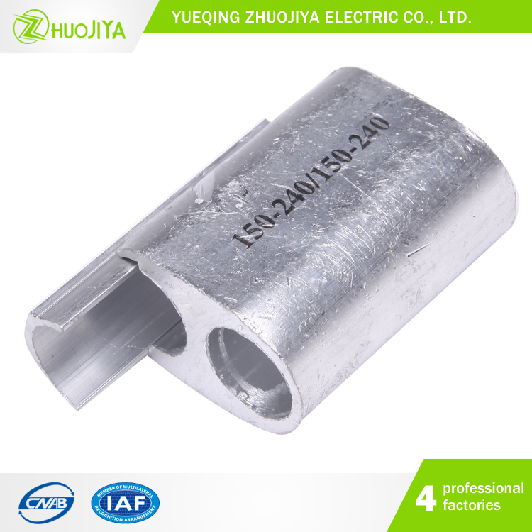 Zhuojiya Direct Buy China High Quality Galvanised Aluminum Parallel Groove PG Clamp For Electric Power Fitting