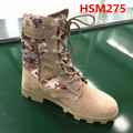 Panama pattern sole Africa hot sale desert camouflage army boots with side zipper